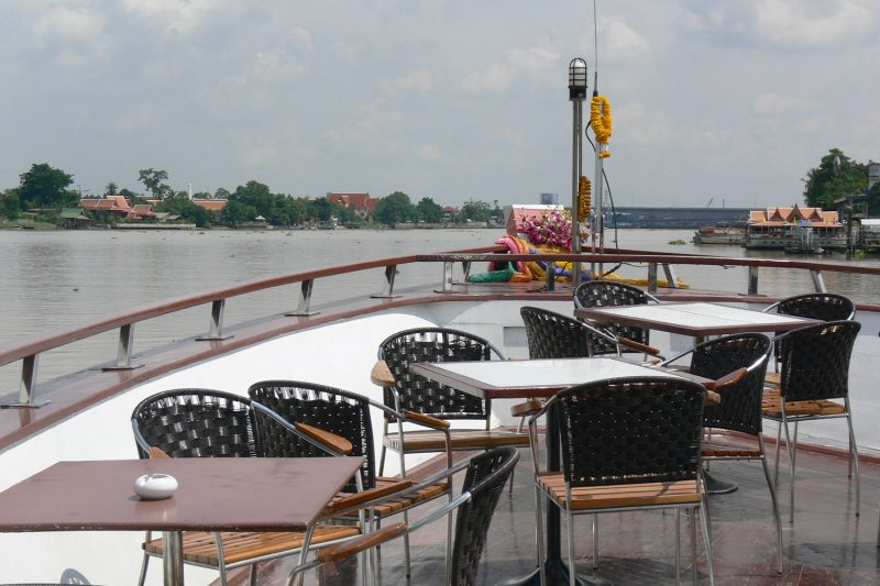Boat Tour up the Chao Phraya River